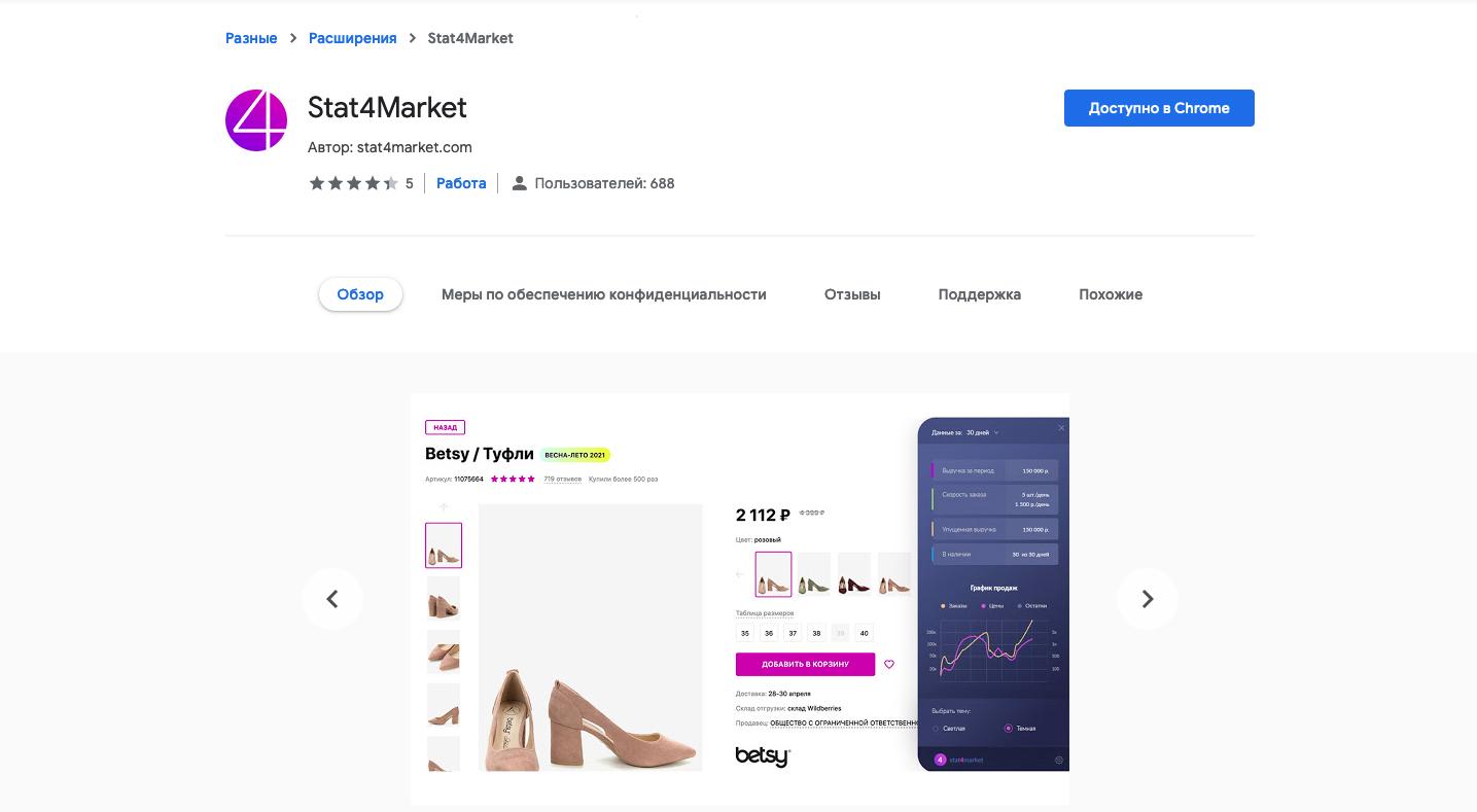 расширение магазине гугл хроме
